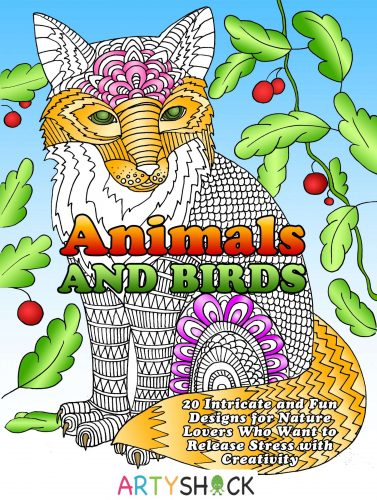 animals and birds front cover