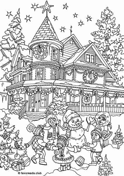 Christmas Joy – Dancing in a Circle