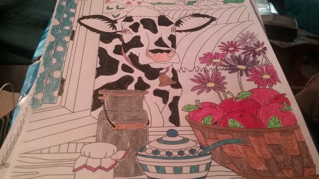 Country Spring – Cow