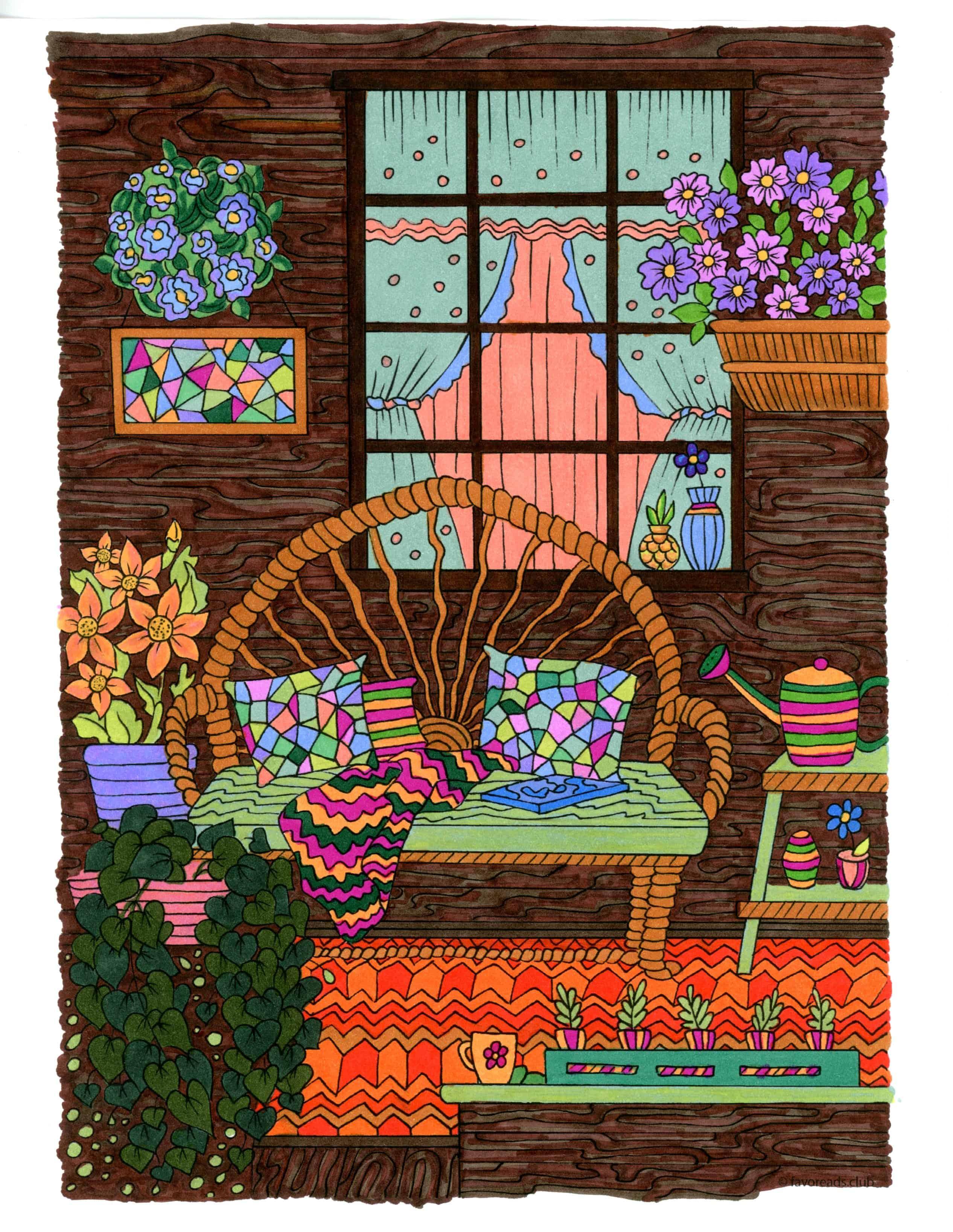 Country Spring – Comfy Porch