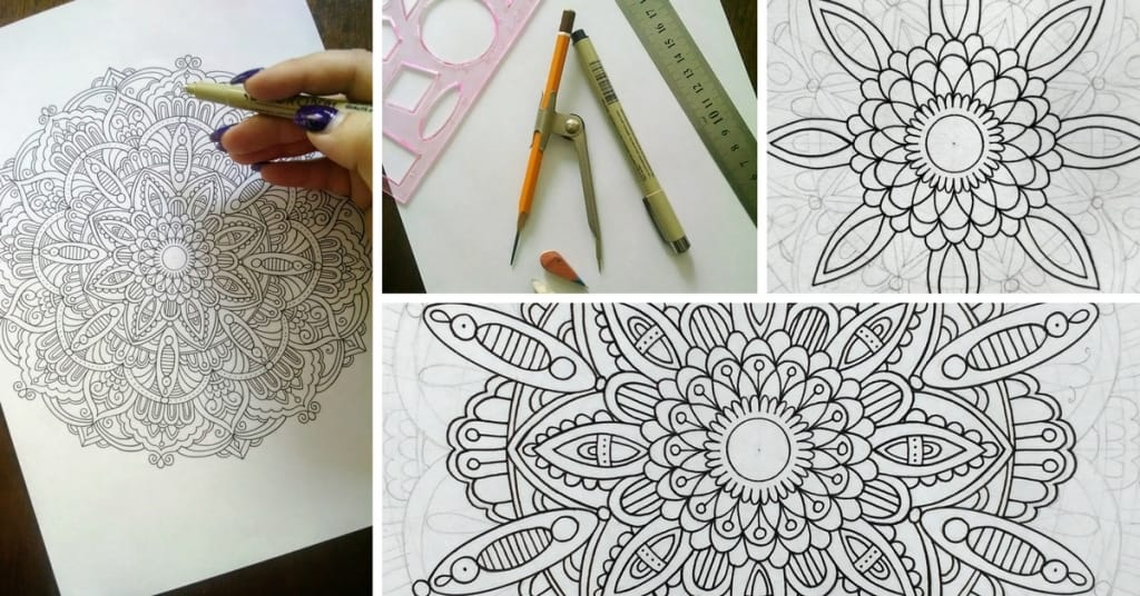 - How To Draw Mandala Designs And Create Your Own Free Coloring Pages –  Favoreads Coloring Club