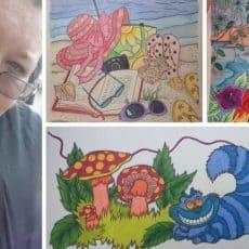 Artist Spotlight: Nosiara Tesla on How Coloring Makes Her Happy