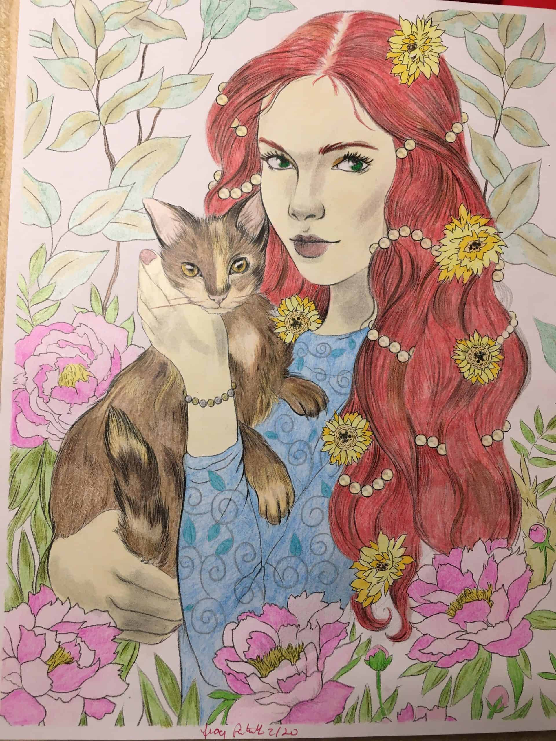 Pixie and Her Cat