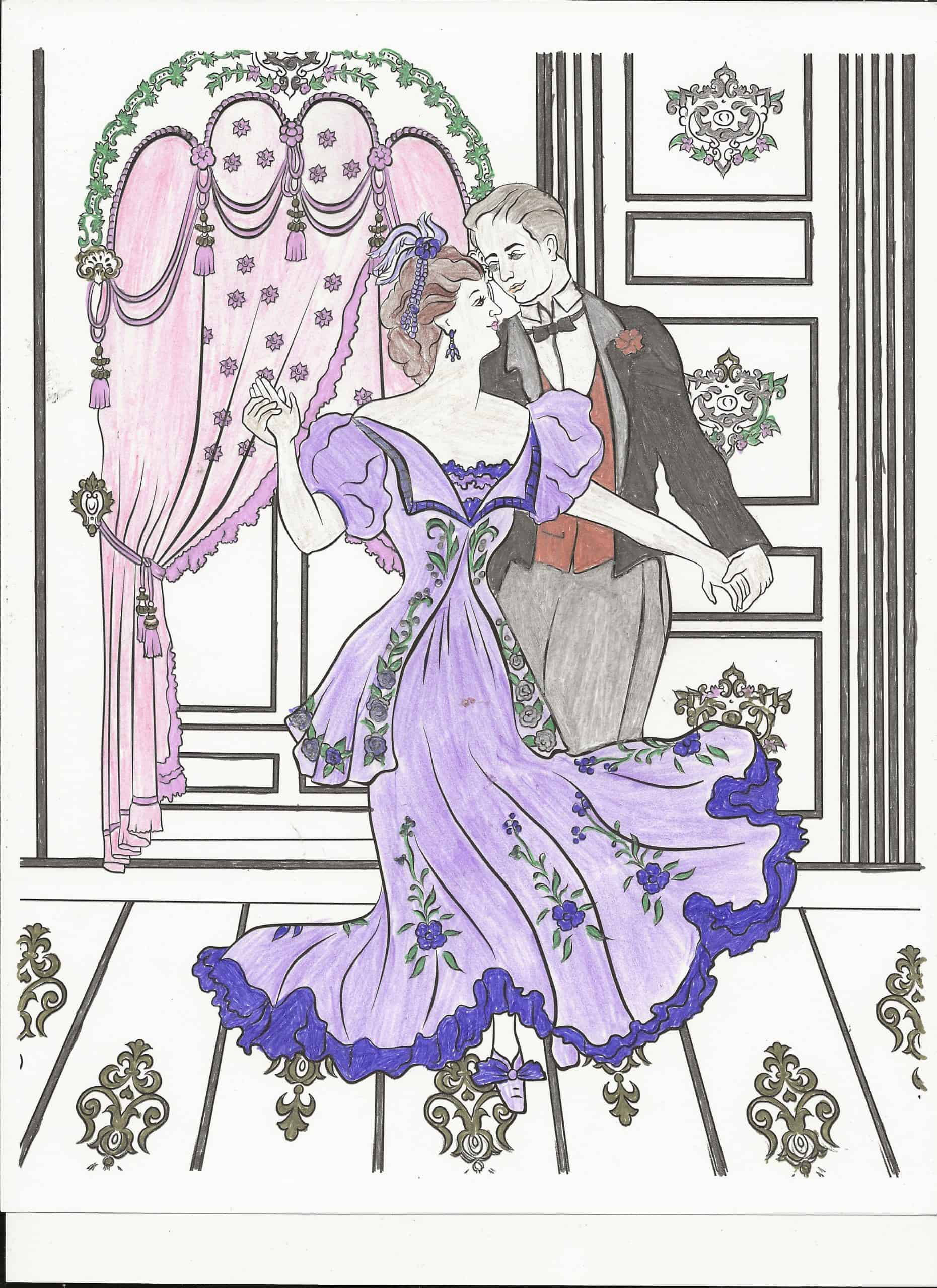 Fashion and Style – Dancing Couple