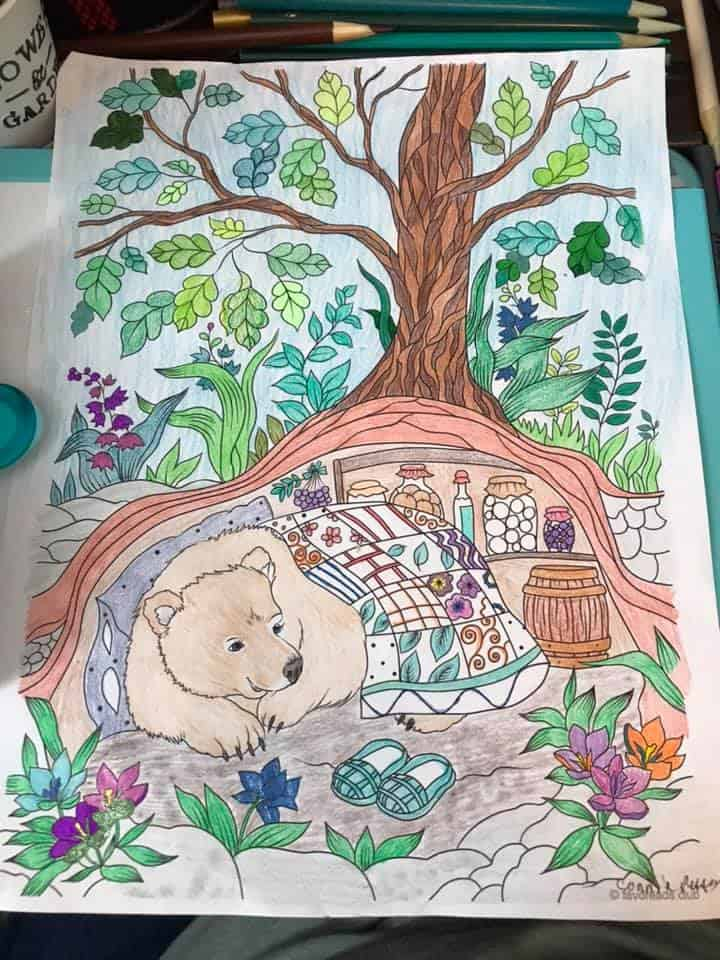Bear in a Hole