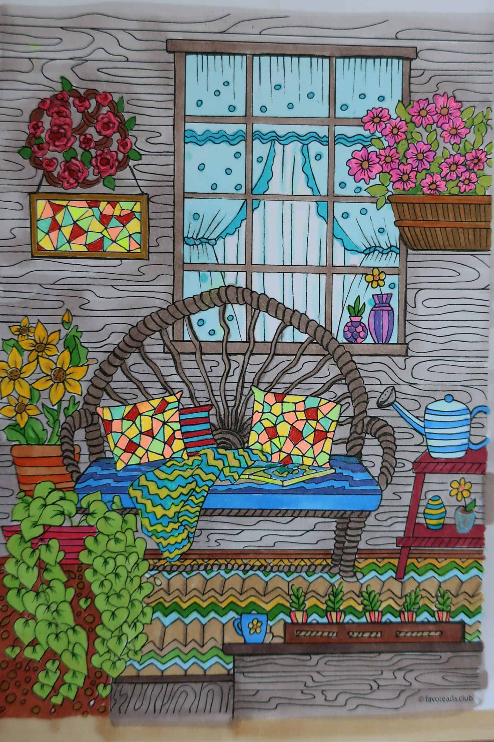 Country Spring – Comfy Porch