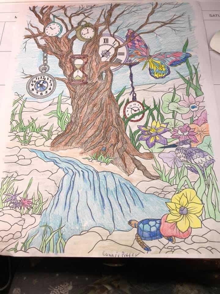 The Land of Fantasia – Clock