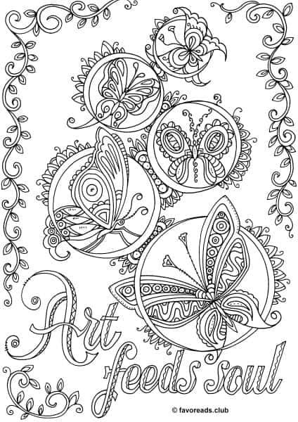 The World of Butterflies – Art Feeds Soul