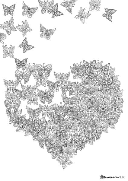 The World of Butterflies – Butterfly Heart