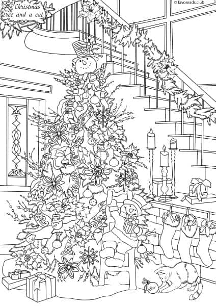 Cats and Dogs – Christmas Tree