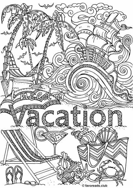 Woman's Adventure – Vacation