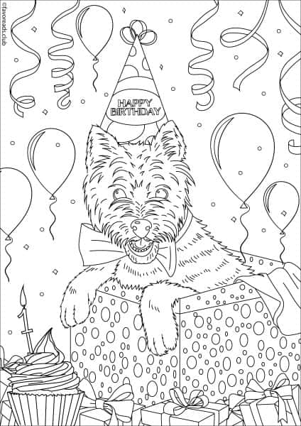 Cats and Dogs – Birthday Dog