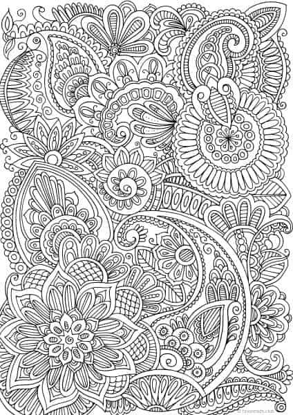Calming Doodle Pattern