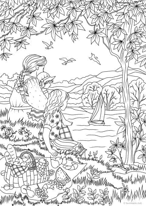 Back At The Barnyard Coloring In Pages - Coloring Home | 679x480