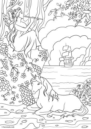 Fantasy Adventure – Unicorn and Fairy
