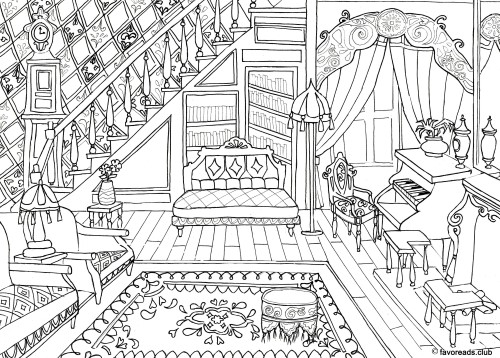 Authentic Architecture – Victorian Living Room