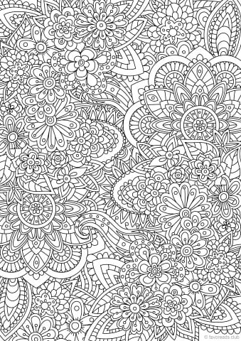 Best Advanced Coloring Pages For Adults Favoreads Coloring Club