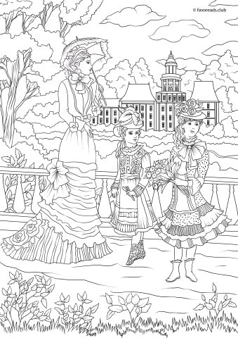 Fashion Coloring Pages Printable - Coloring Home | 480x339