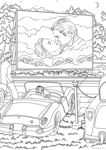 6 FREE Printable Adult Coloring Pages Inspired by Literature | Printable  adult coloring pages, Coloring pages, Adult coloring pages | 500x353