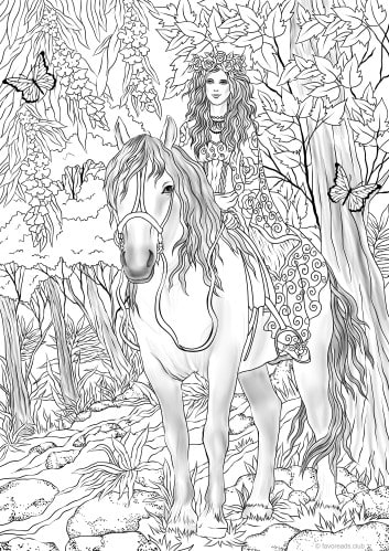 Fairy on a Horse