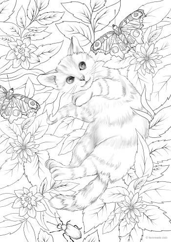 Cat Flowers