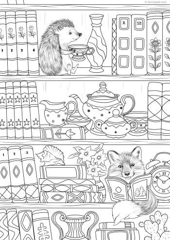 Books and Animals