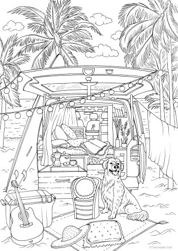 Travel in a Van