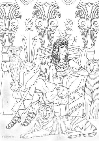Princess and Cats