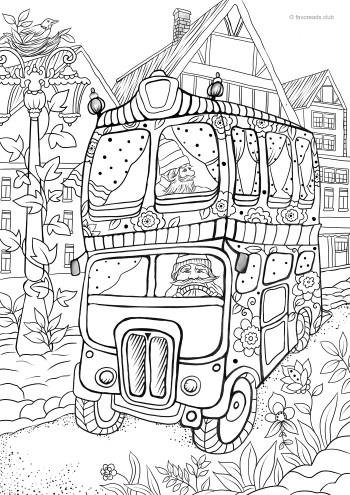 Fantasy Bus